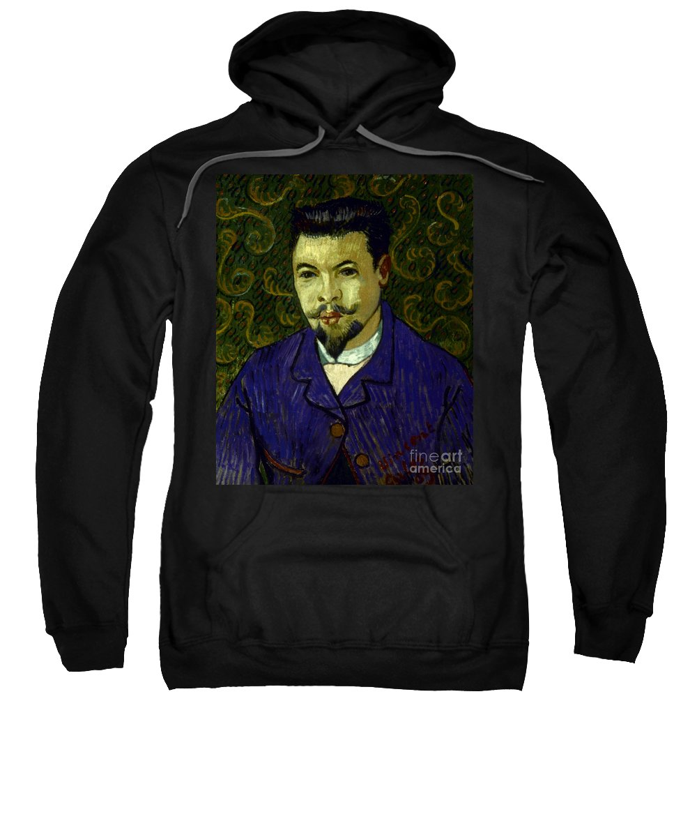 19th Century Sweatshirt featuring the photograph Van Gogh: Dr Rey, 19th C by Granger