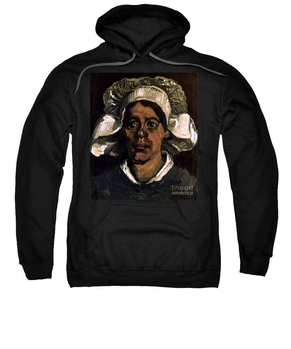 19th Century Sweatshirt featuring the photograph Van Gogh: Peasant, 19th C by Granger