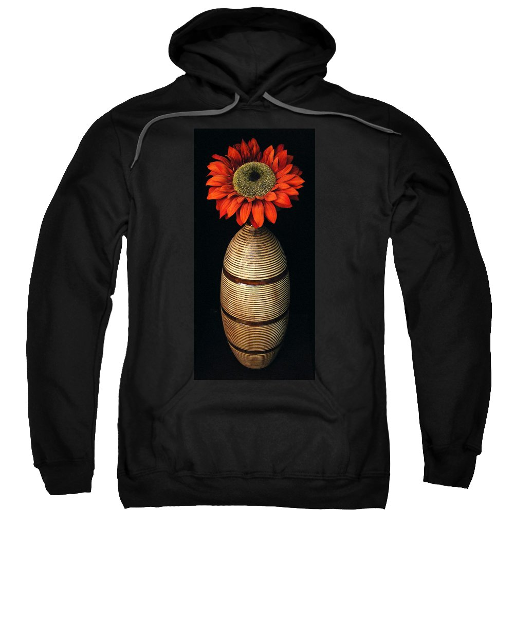 Floral Sweatshirt featuring the photograph Vase II by Ed Smith
