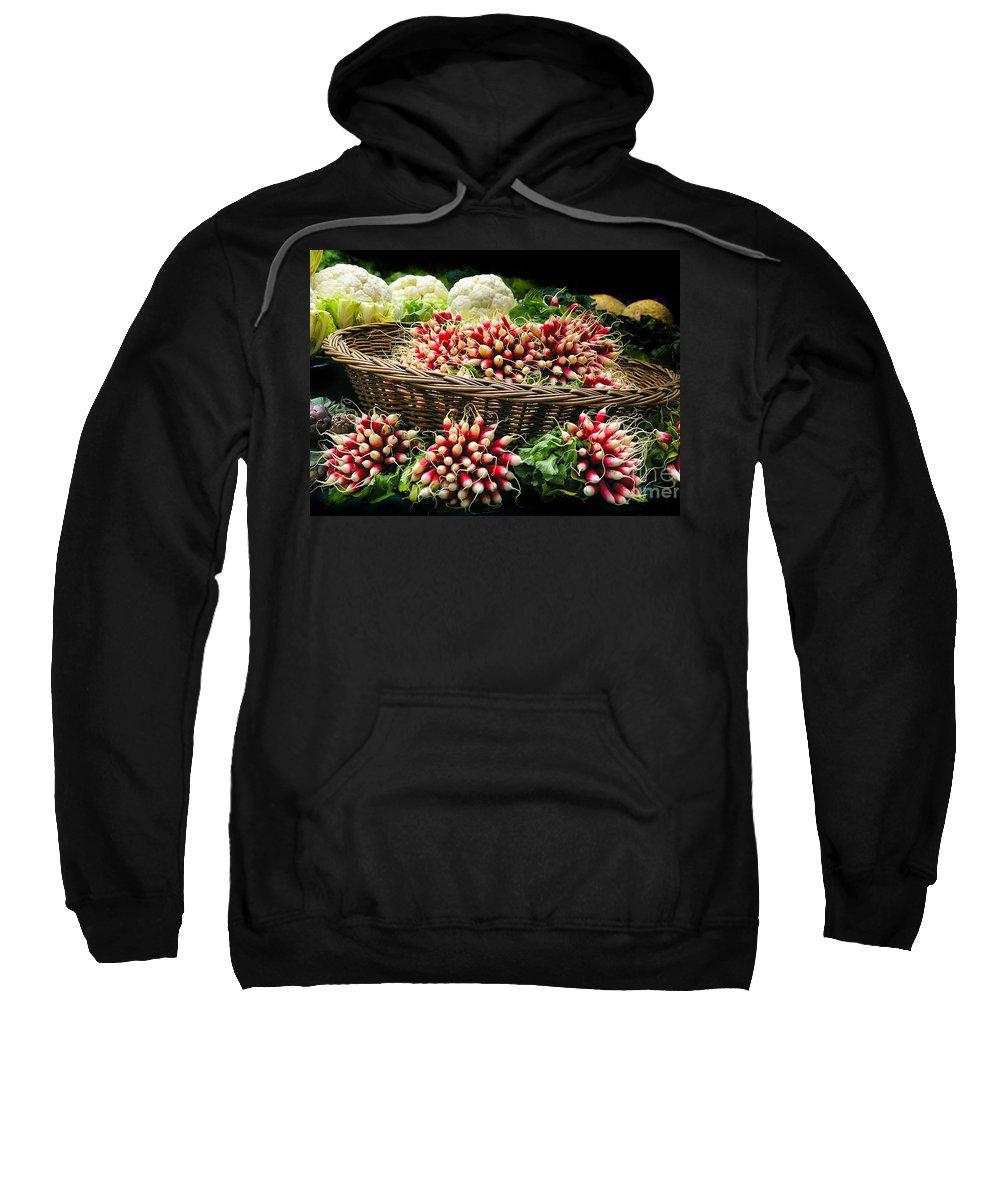 Paris Sweatshirt featuring the photograph Vegetable At Market In Paris by Rene' Keultjes