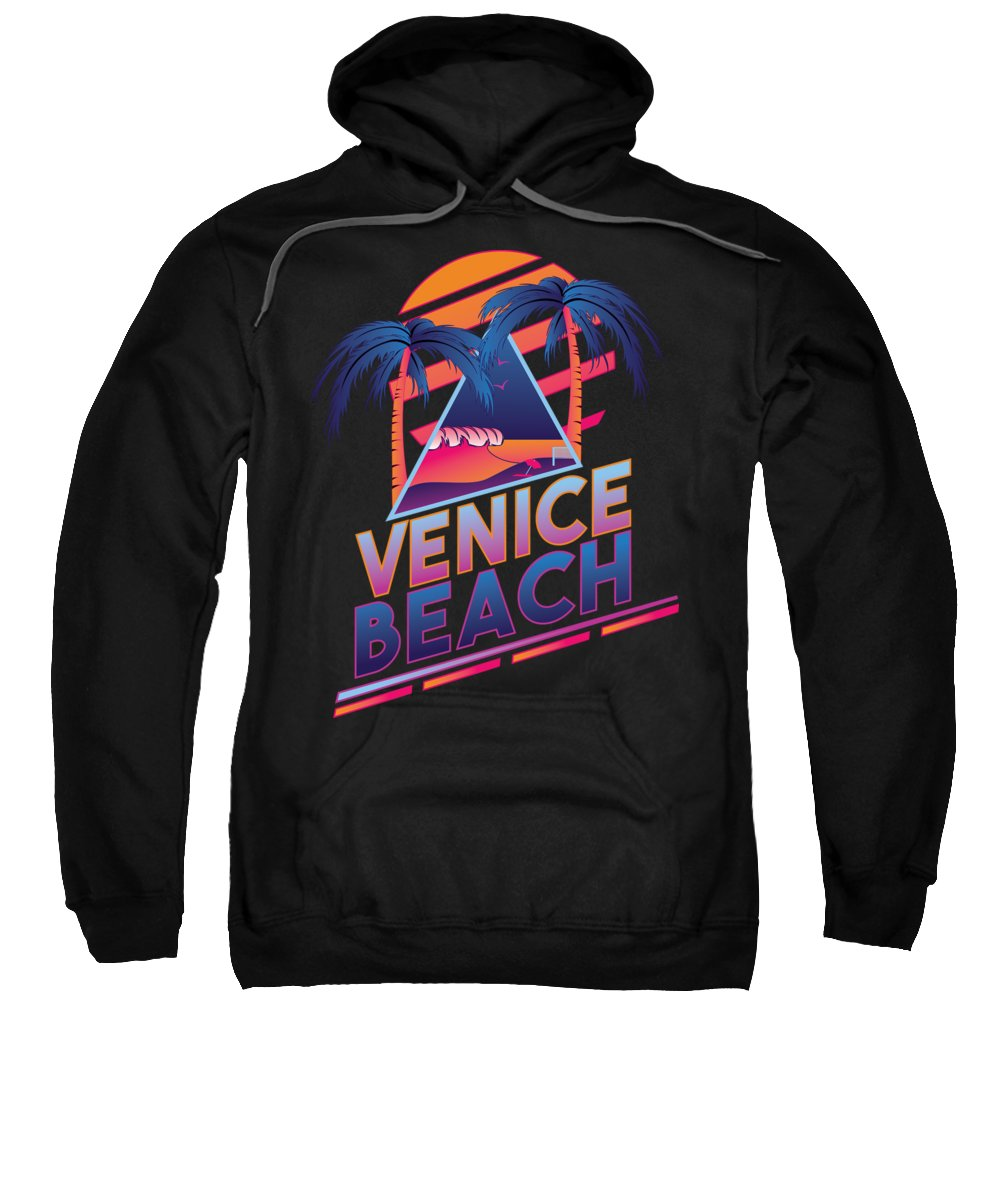 Venice Beach Hooded Sweatshirts T-Shirts