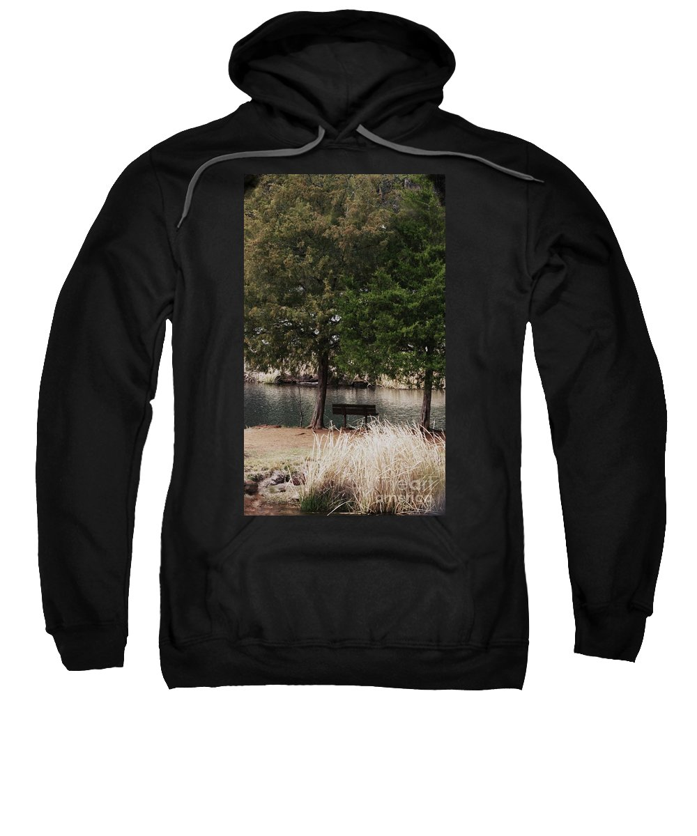 Nature Photographs Sweatshirt featuring the photograph Very Inviting by Kim Henderson
