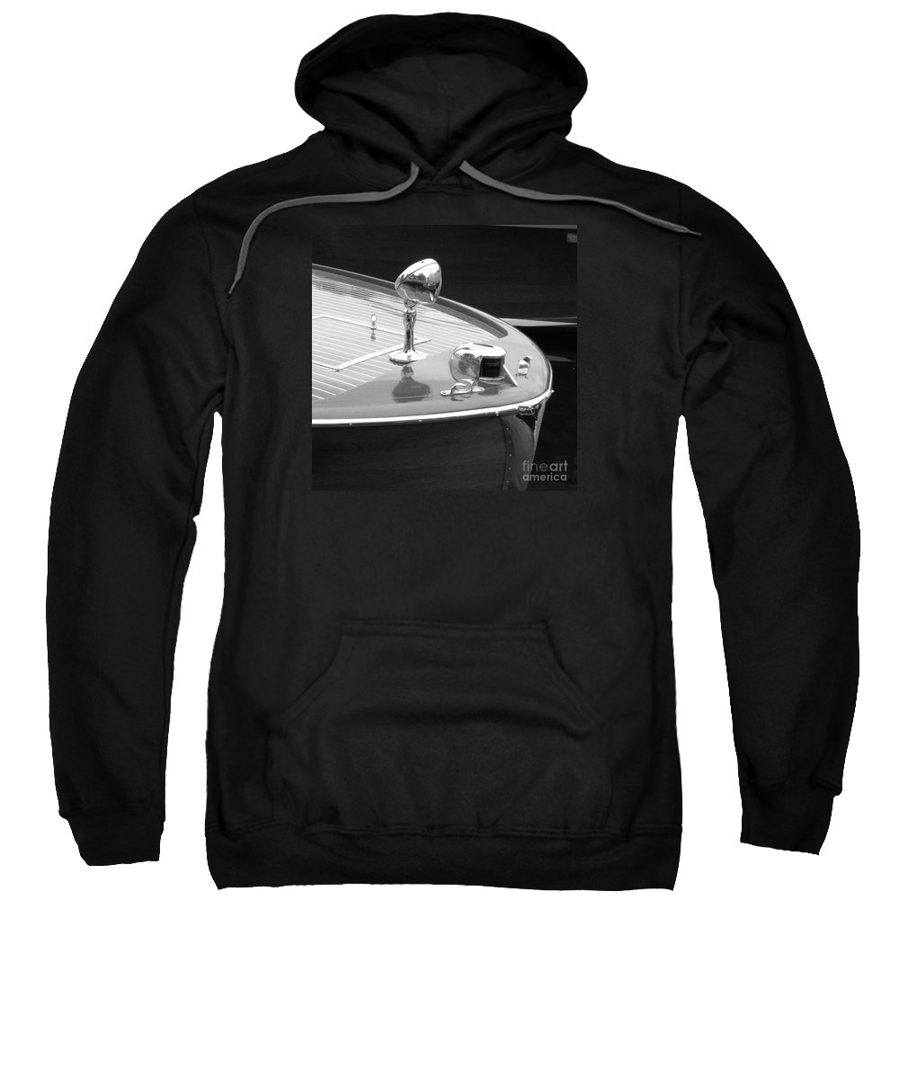 Chris Craft Sweatshirt featuring the photograph C.c. Utility by Neil Zimmerman