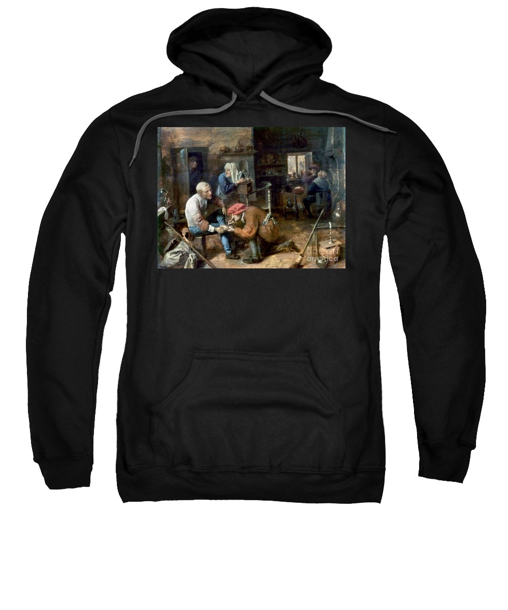 Adrian Sweatshirt featuring the photograph Village Barber-surgeon by Granger