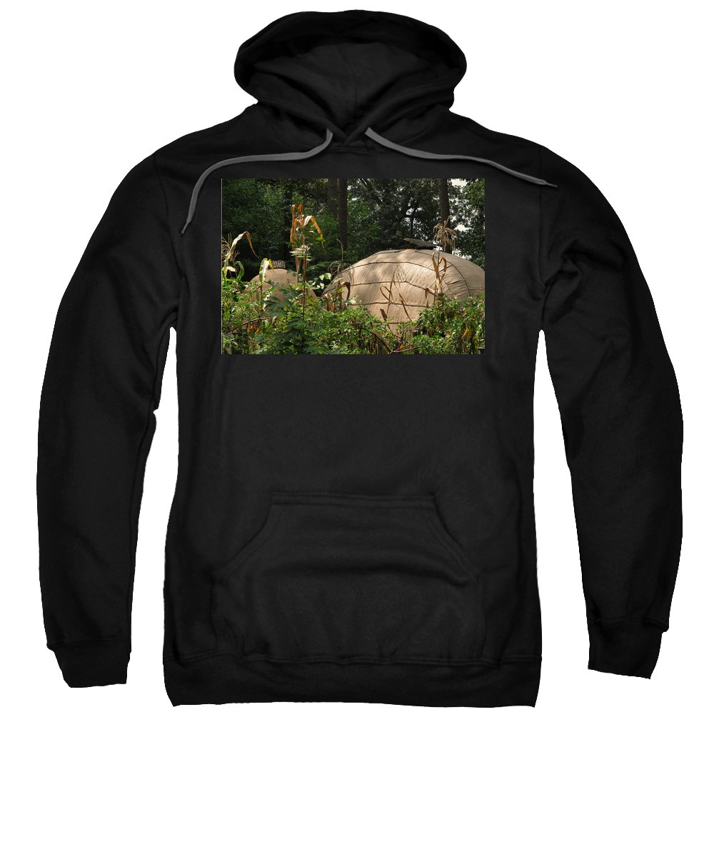 Native Sweatshirt featuring the photograph Village by Peg Urban