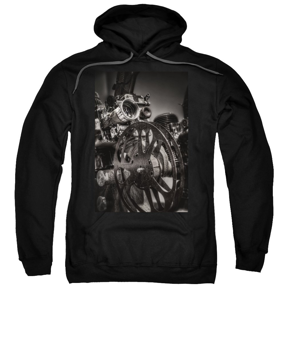 Projector Sweatshirt featuring the photograph Vintage 16mm by Scott Norris