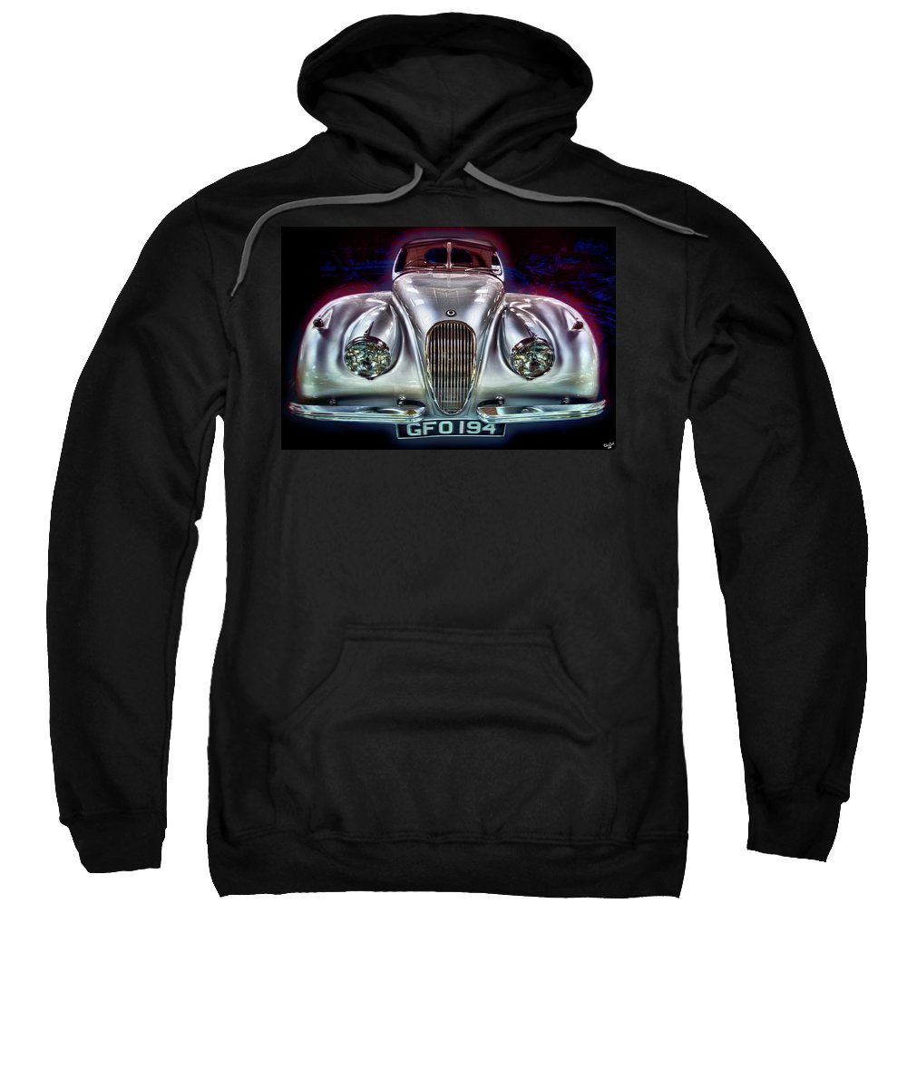 Auto Sweatshirt featuring the photograph Vintage Speedster by Chris Lord