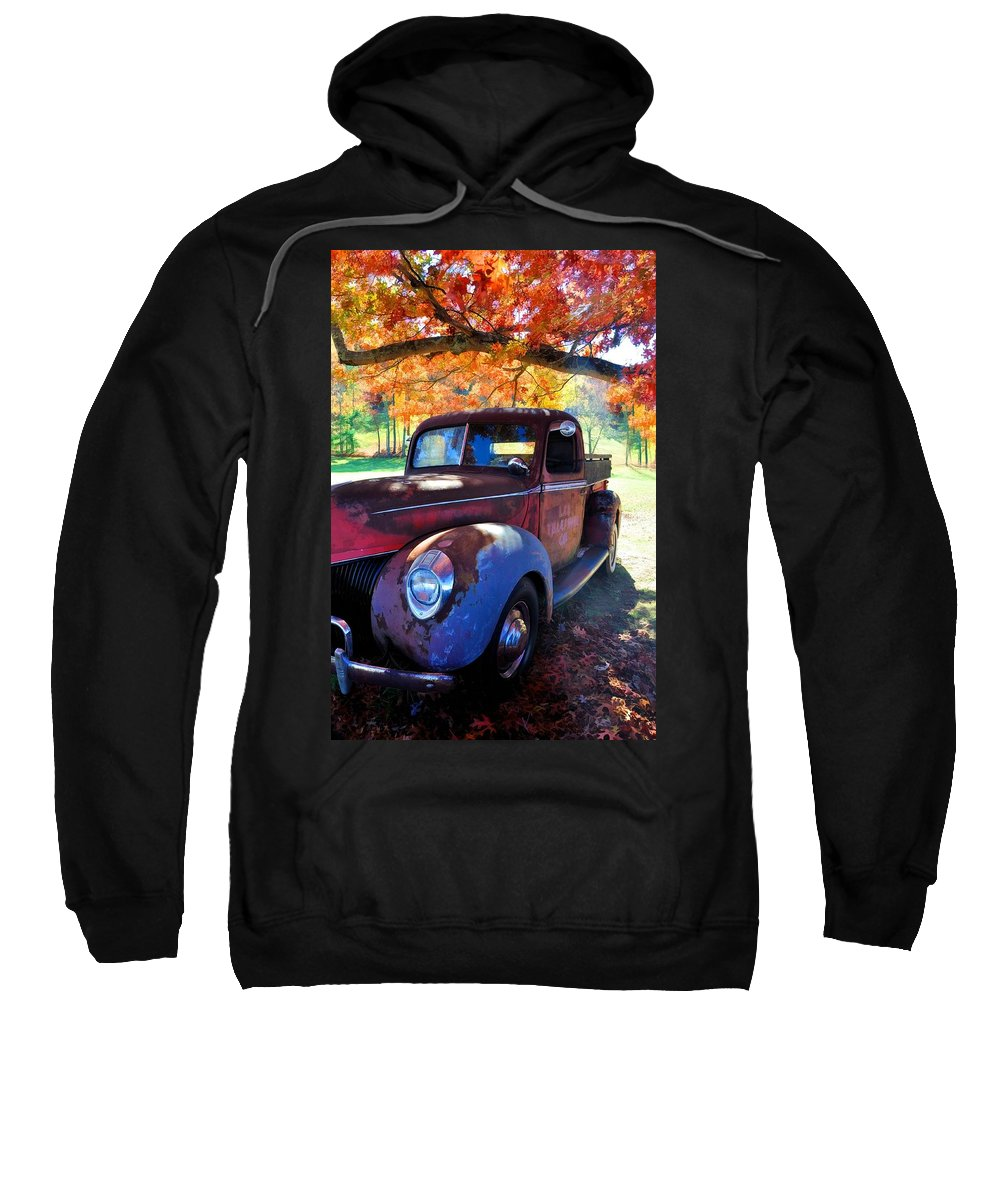 Vehicles Sweatshirt featuring the photograph Virginia Beauty by Jan Amiss Photography