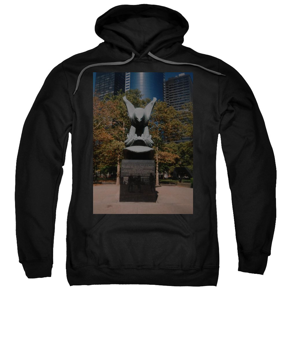 Ww Ii Sweatshirt featuring the photograph W W II Eagle by Rob Hans