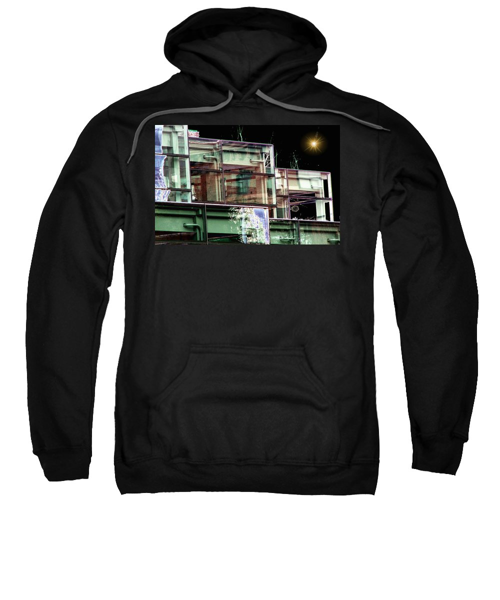 Seattle Sweatshirt featuring the digital art Wa State Convention And Trade Center by Tim Allen