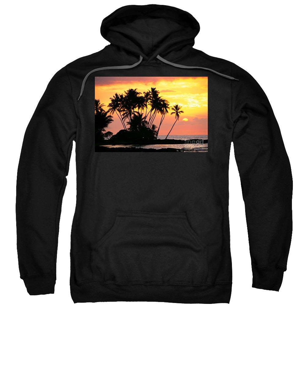 Amaze Sweatshirt featuring the photograph Wailua Bay, View by Bob Abraham - Printscapes