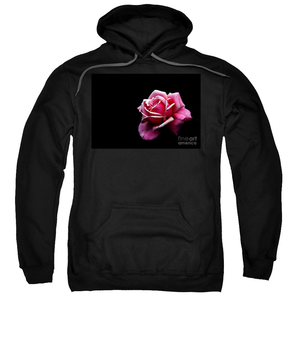 Rose Sweatshirt featuring the photograph Waiting by Amanda Barcon