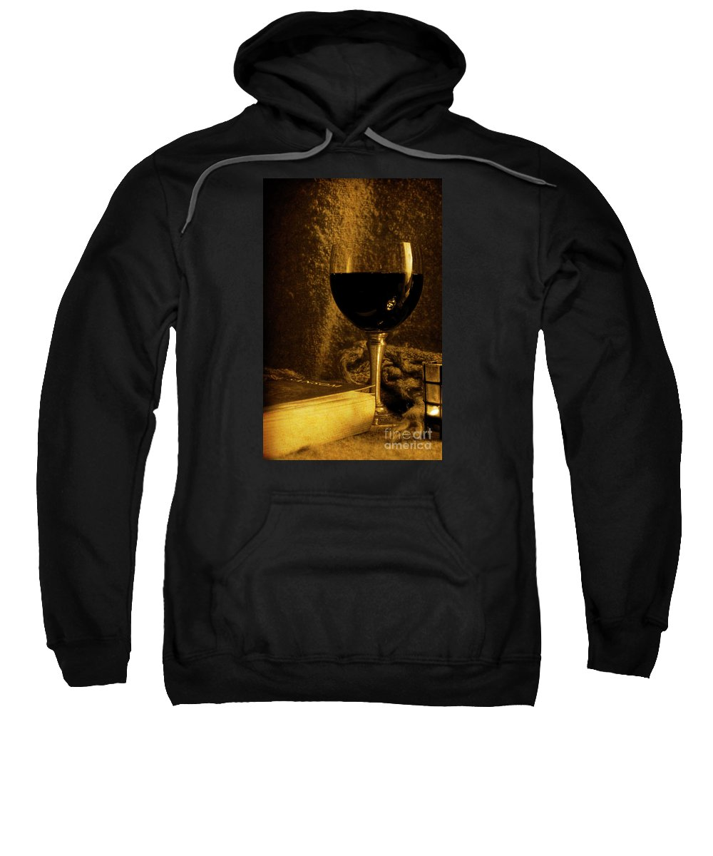 Festblues Sweatshirt featuring the photograph Waiting For Summer... by Nina Stavlund