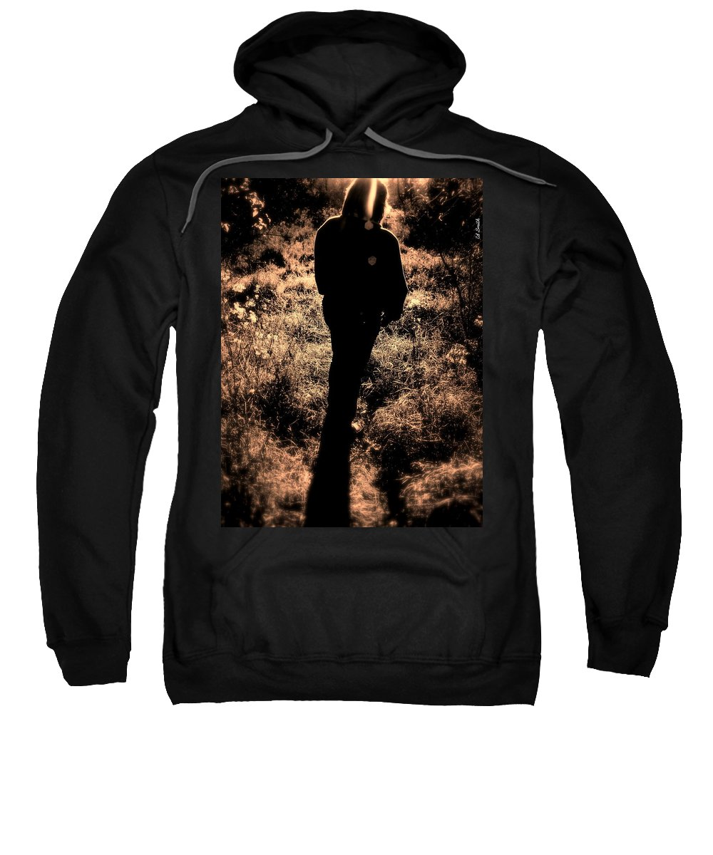 Walk Sweatshirt featuring the photograph Walk In The Park by Ed Smith