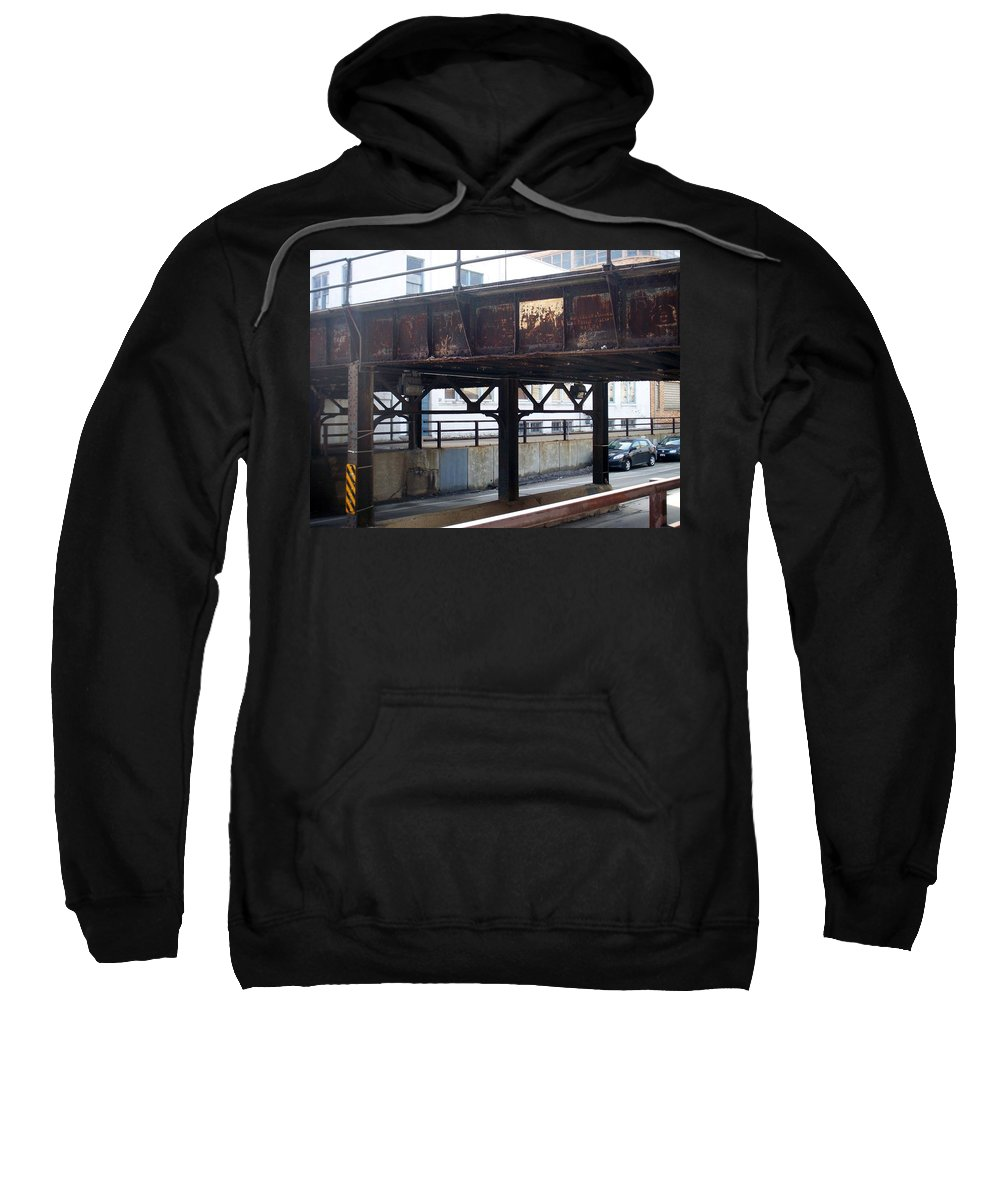 Walker's Point Sweatshirt featuring the photograph Walker's Point 5 by Anita Burgermeister