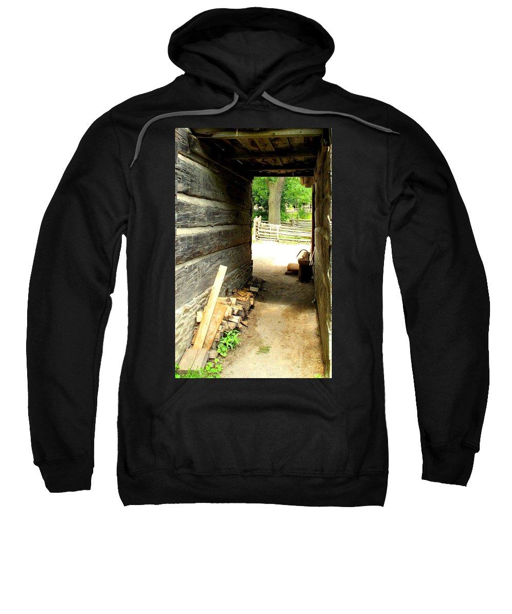 Pioneer Sweatshirt featuring the photograph Walkway by Ian MacDonald