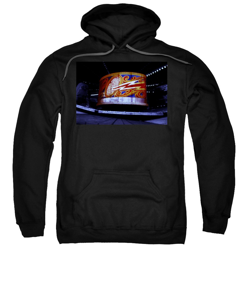 Waltzer Sweatshirt featuring the photograph Waltzer by Charles Stuart