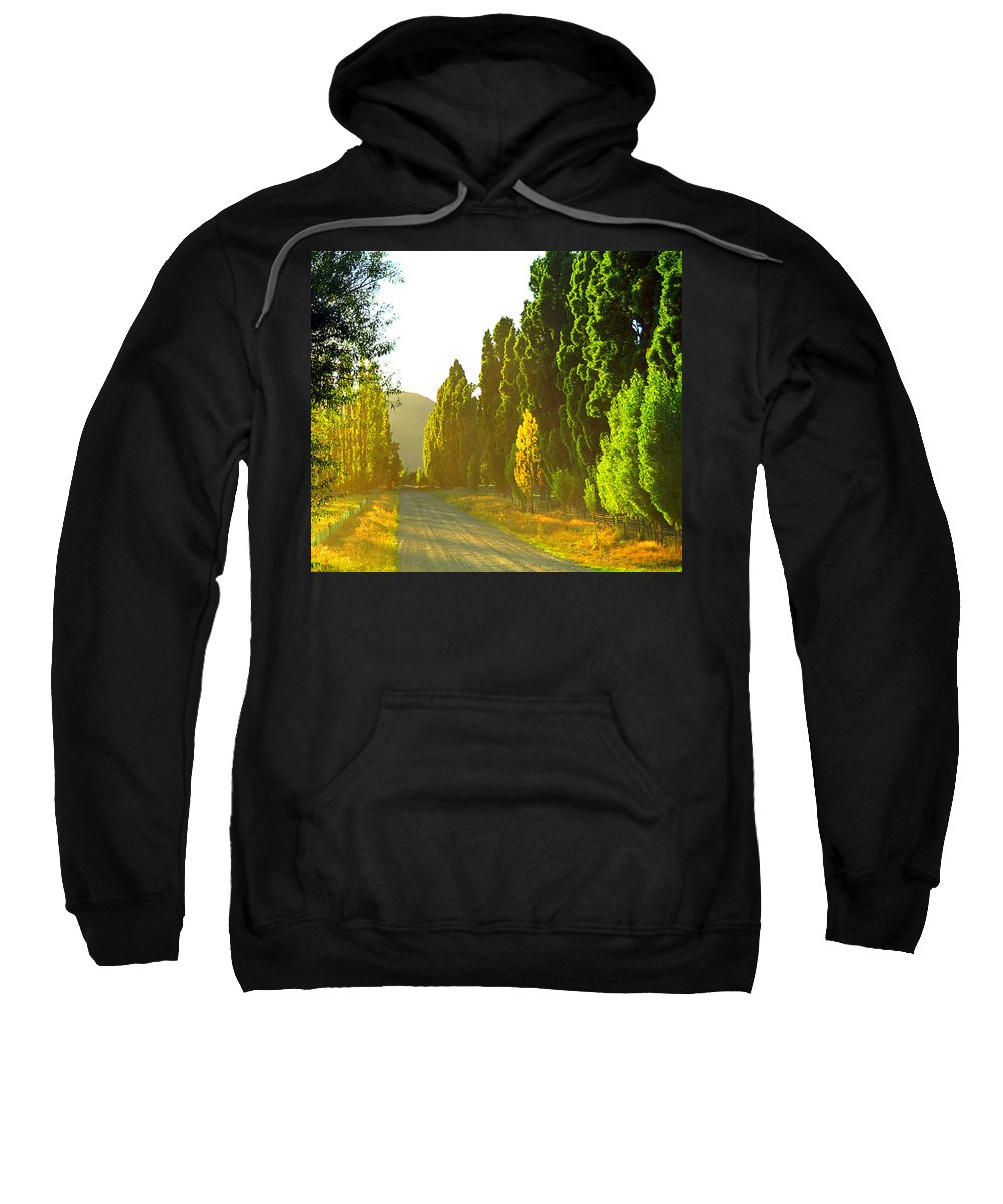 Wanaka Sweatshirt featuring the photograph Wanaka Morning Light by Kevin Smith