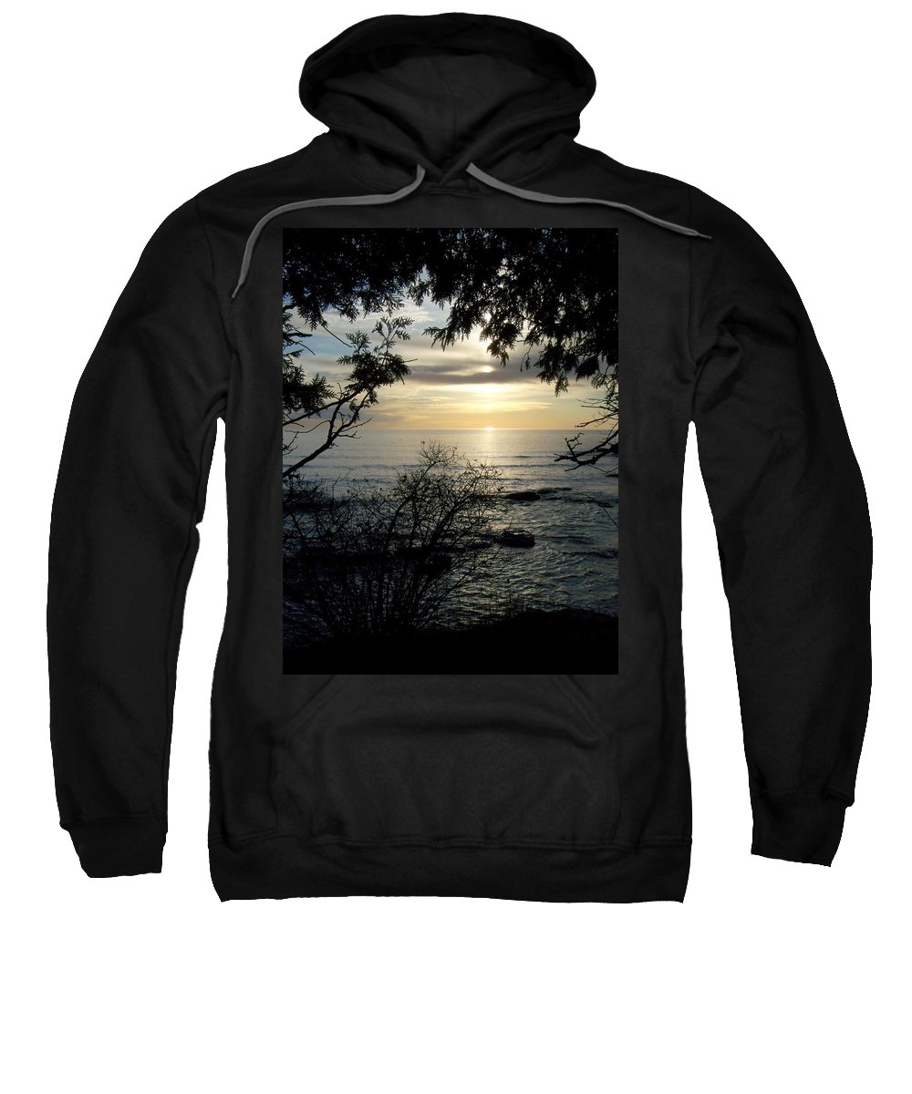 Washington Island Sweatshirt featuring the photograph Washington Island Morning 4 by Anita Burgermeister
