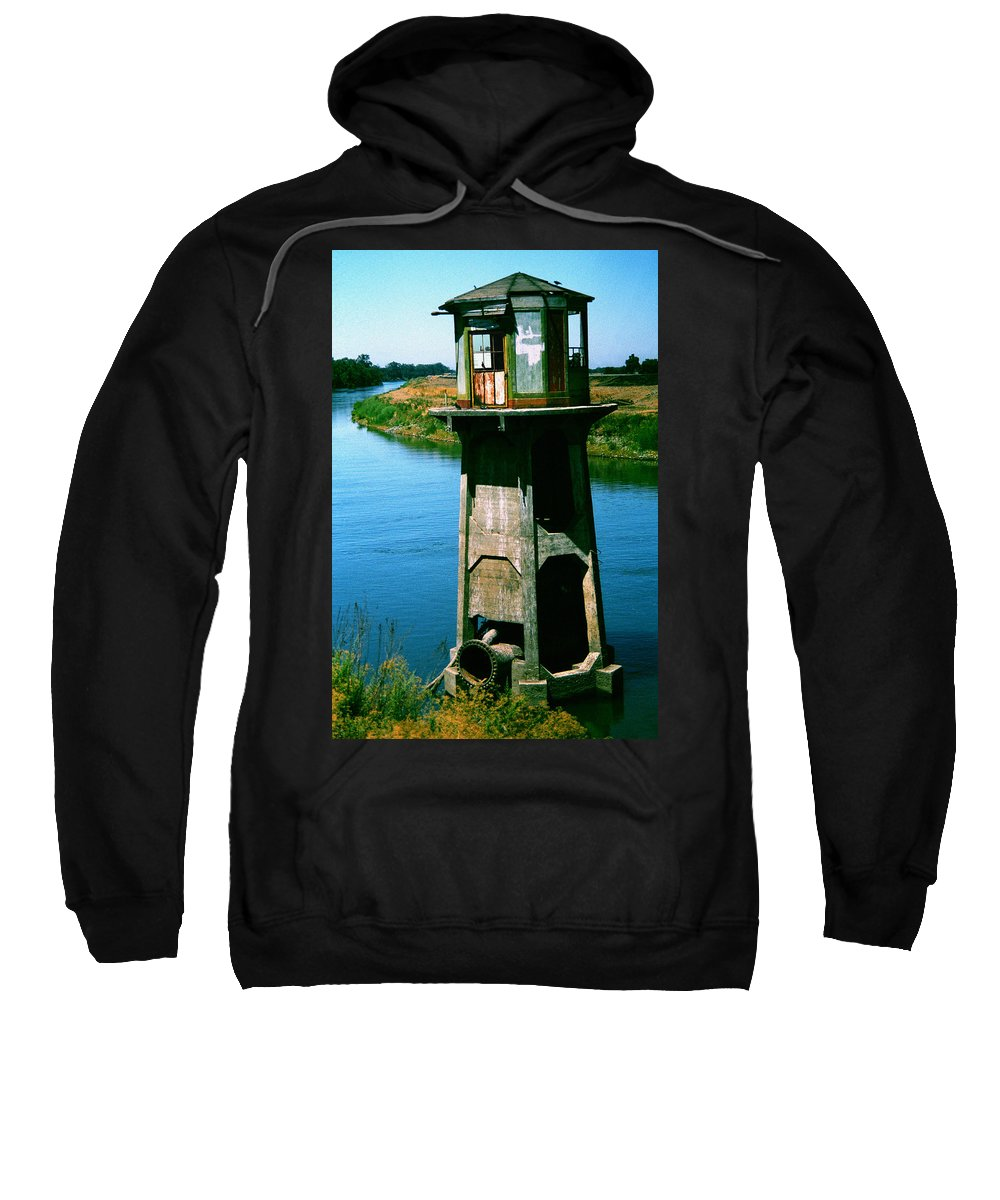 Water Treatment Sweatshirt featuring the photograph Water Treatment by Peter Piatt