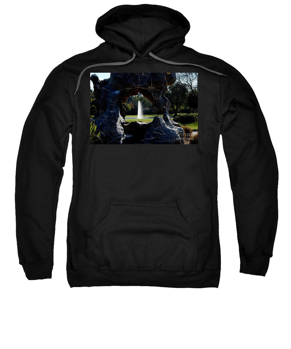 Clay Sweatshirt featuring the photograph Water View by Clayton Bruster
