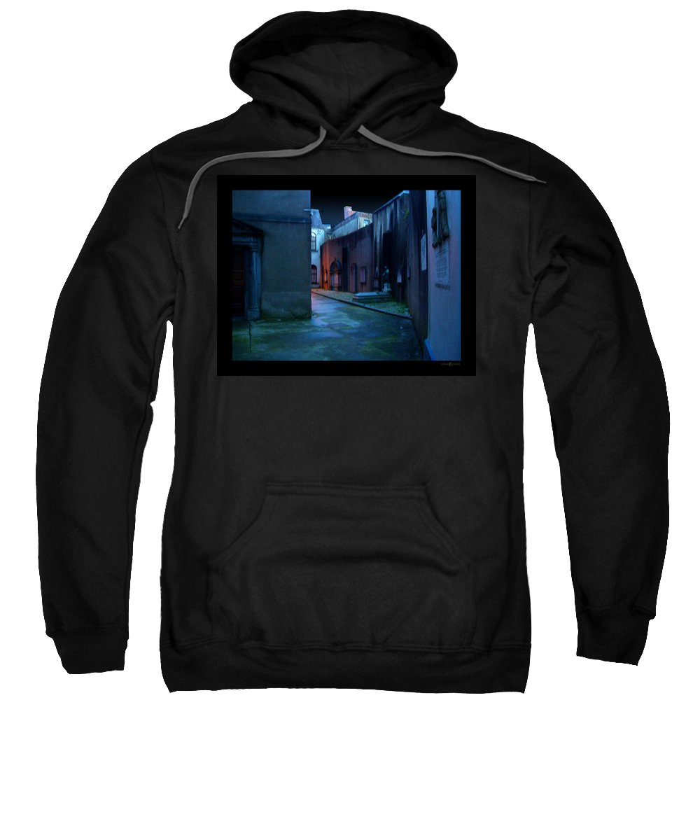 Waterford Sweatshirt featuring the photograph Waterford Alley by Tim Nyberg