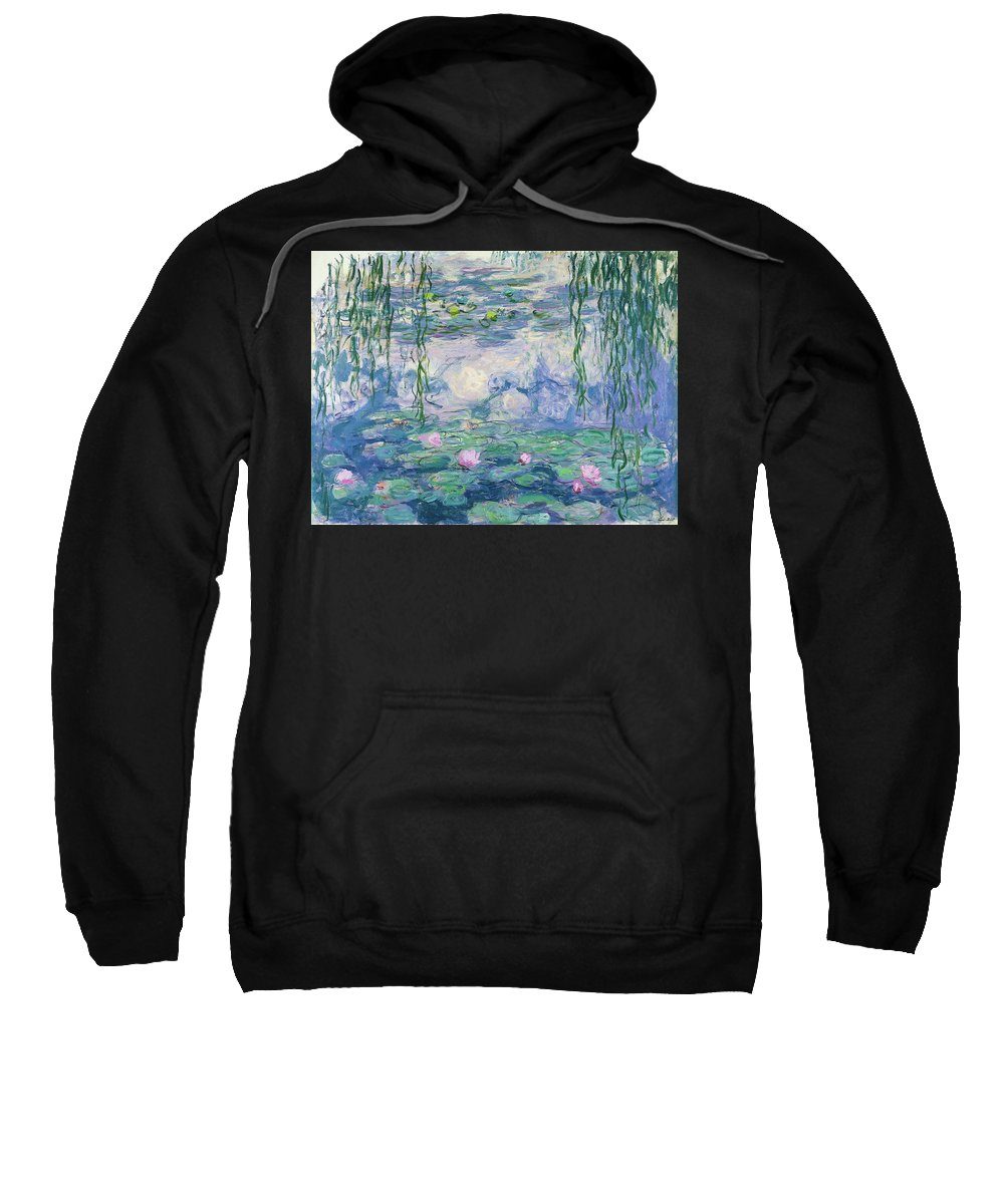 Oscar-claude Monet Paintings Hooded Sweatshirts T-Shirts