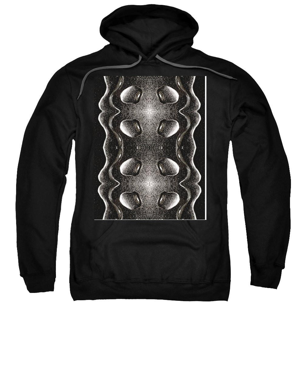 Water Sweatshirt featuring the photograph Waterscape 1 by Nancy Mueller