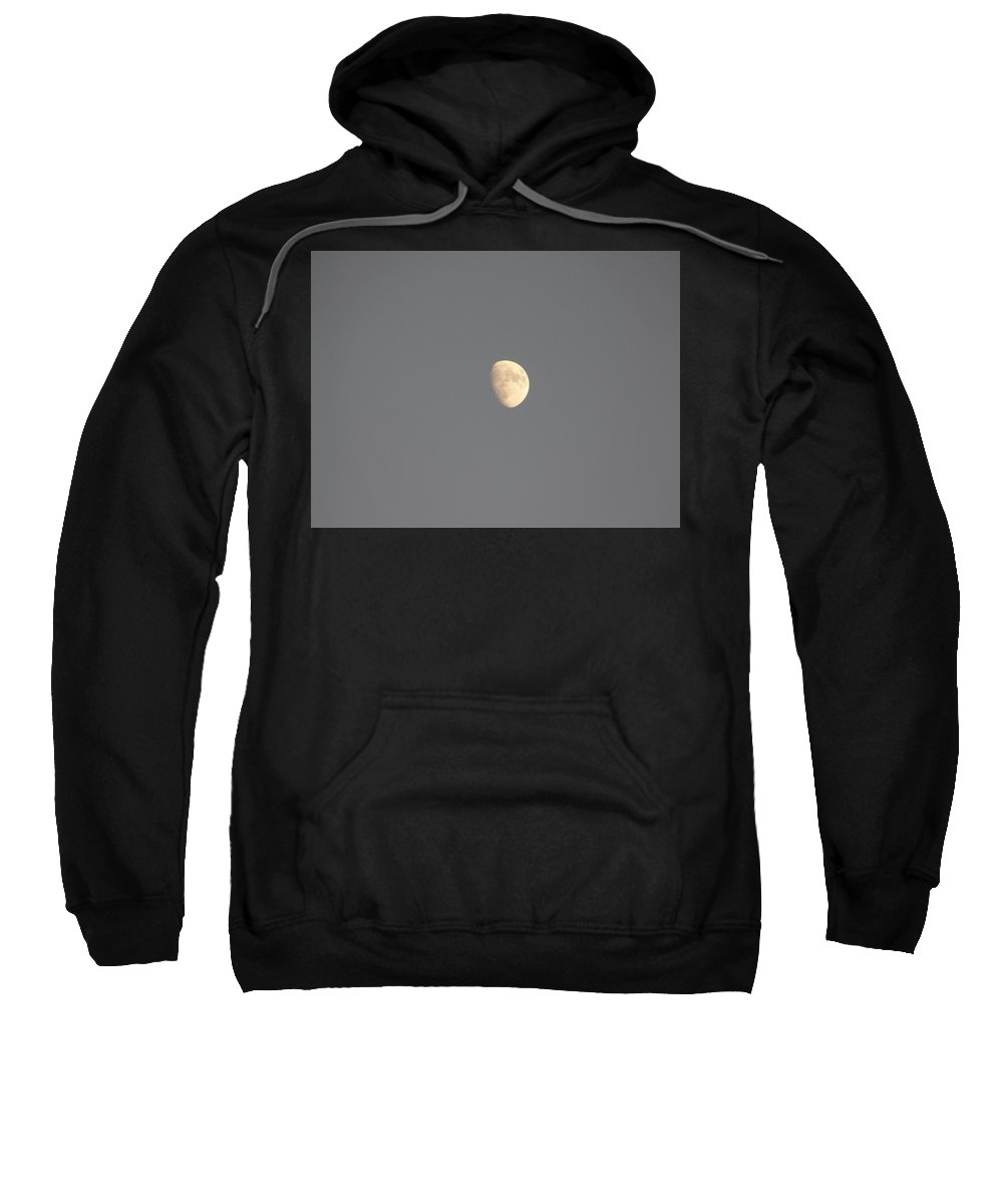 Waxing Sweatshirt featuring the photograph Waxing Moon by Valerie Ornstein