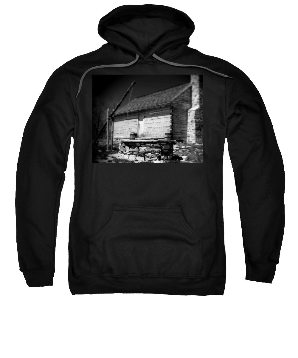 Army Sweatshirt featuring the photograph Way Station French And Indian War by Jean Macaluso