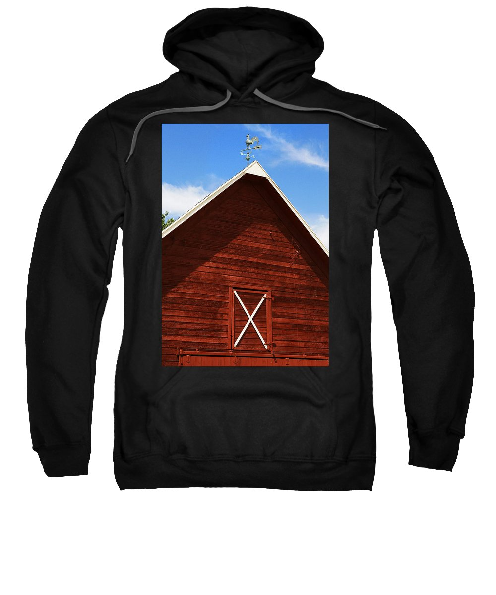 Weather Sweatshirt featuring the photograph Weather Vane by Marilyn Hunt