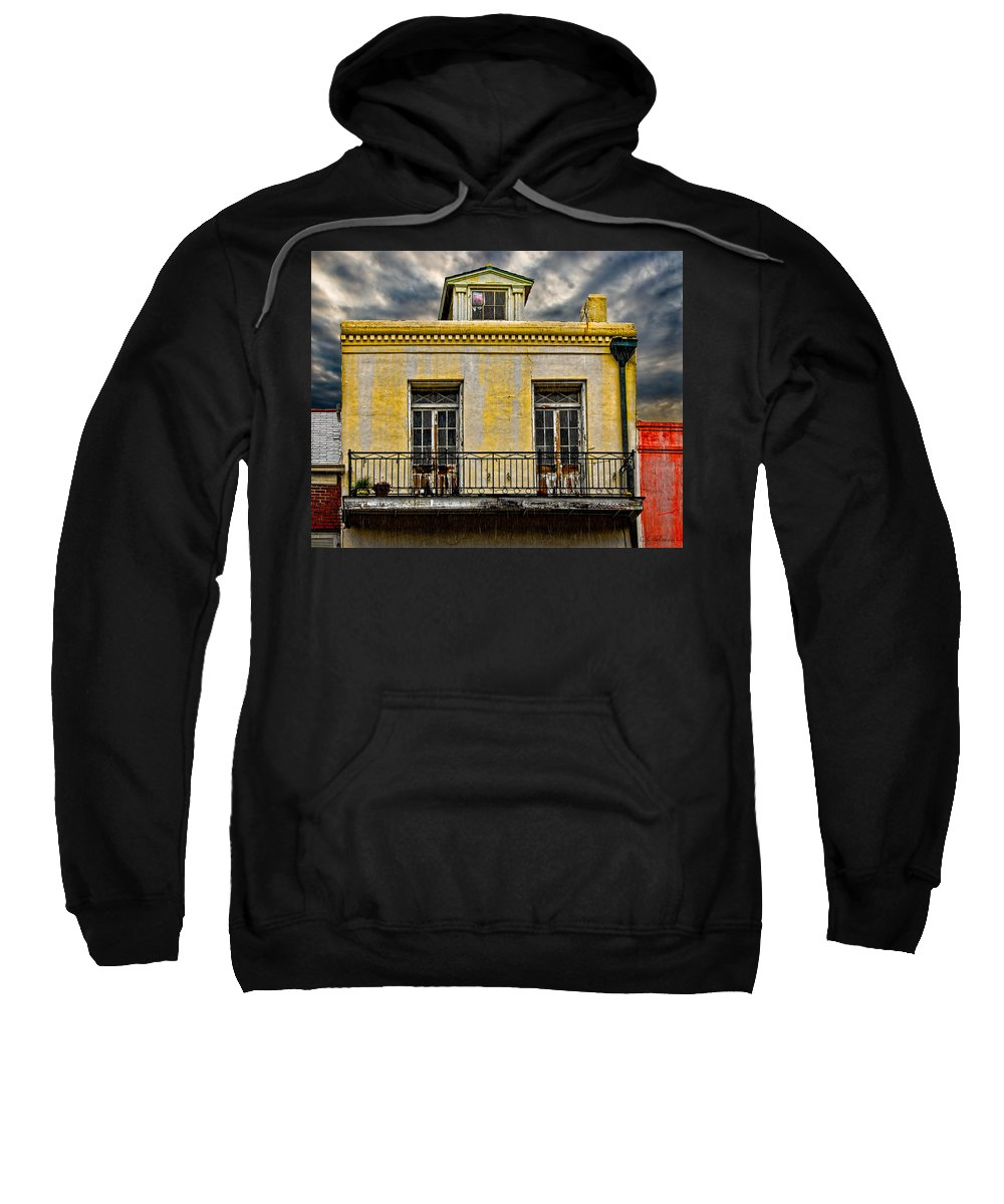 Structure Sweatshirt featuring the photograph Weathered by Christopher Holmes