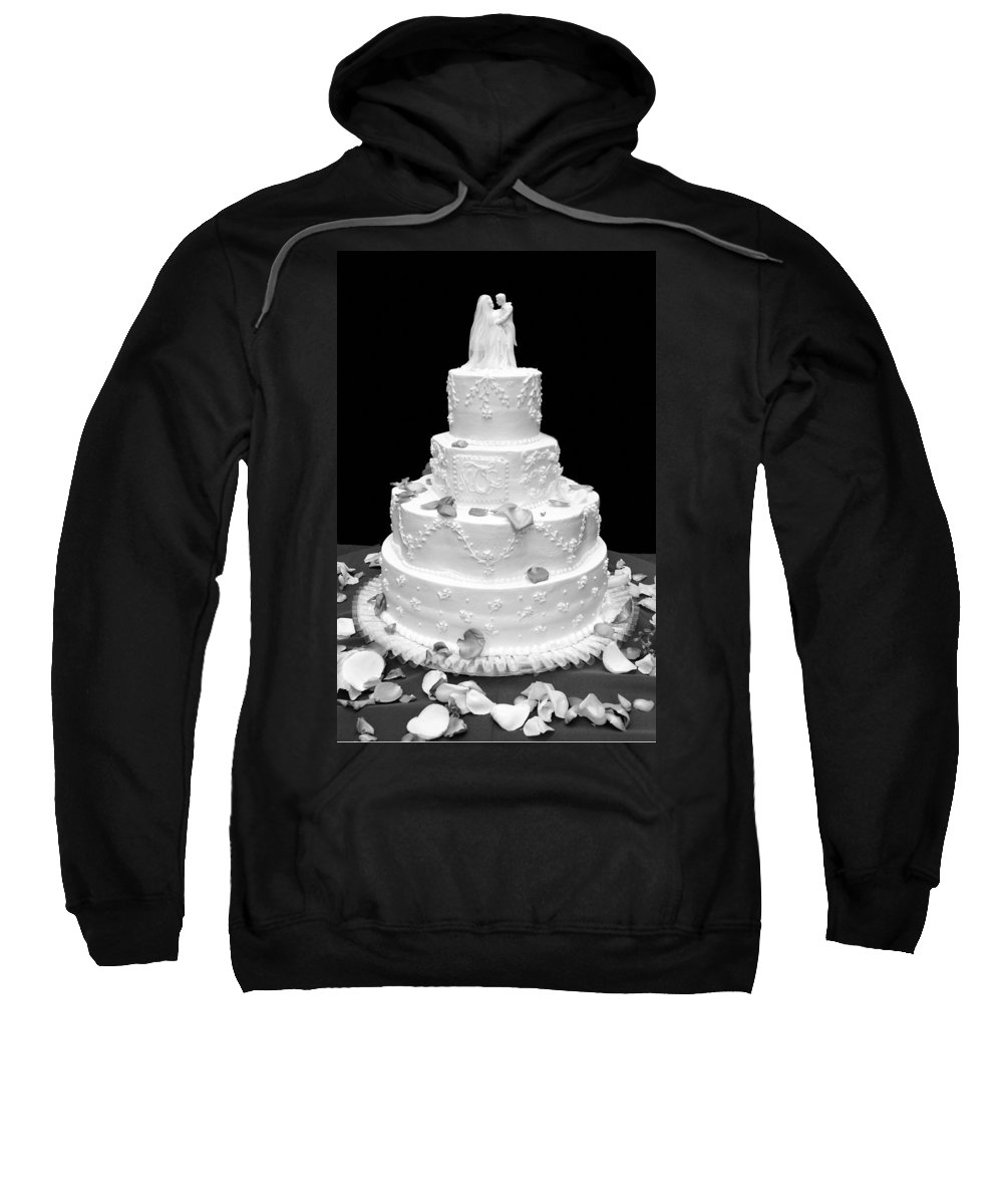 Wedding Sweatshirt featuring the photograph Wedding Cake by Marilyn Hunt