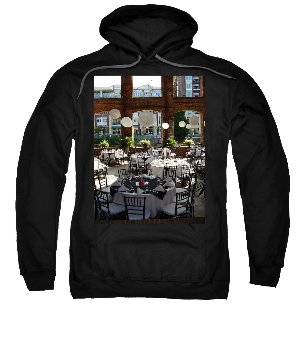 Markley Carriage Sweatshirt featuring the photograph Wedding by Flavia Westerwelle