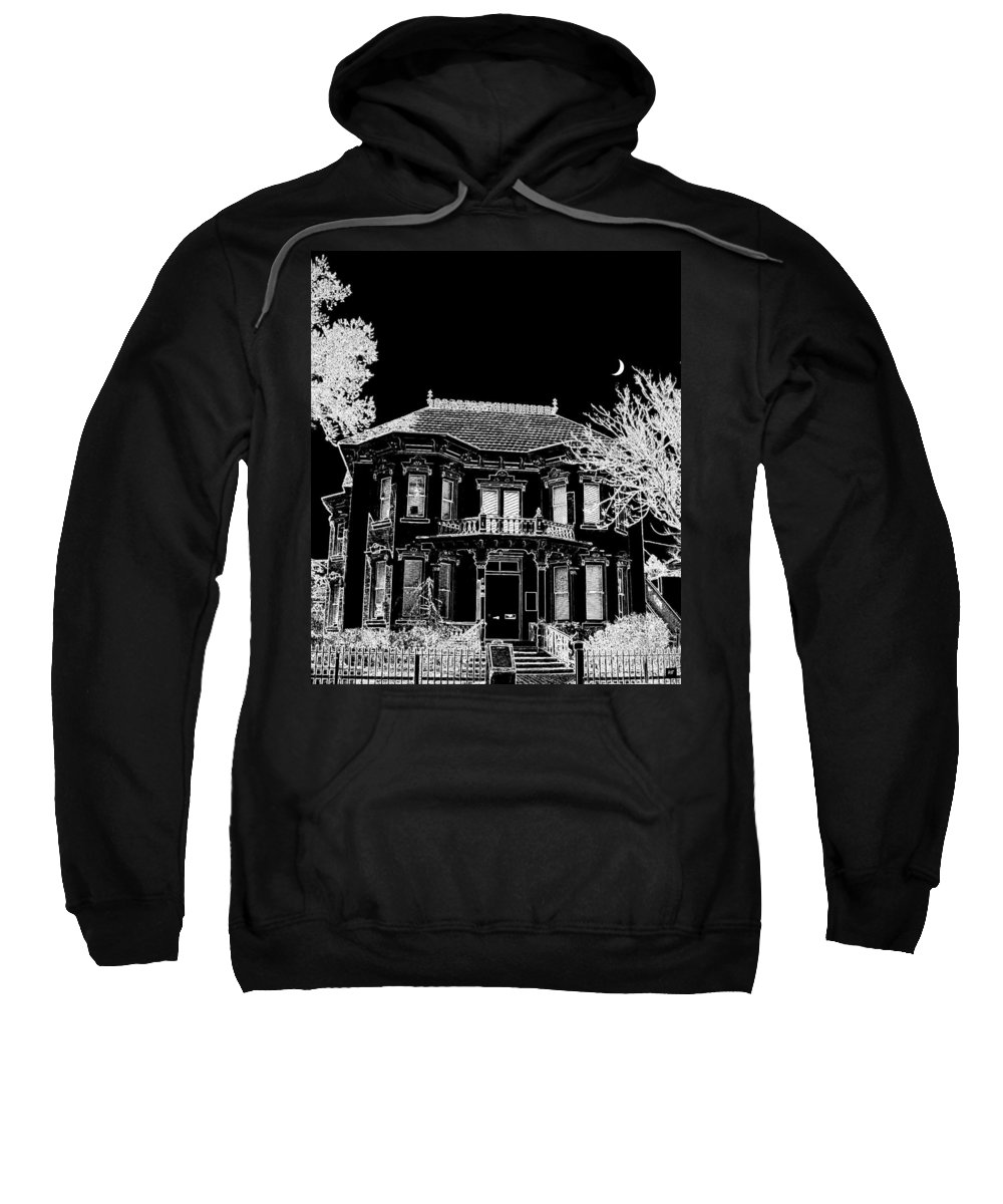 Welcome Home Sweatshirt featuring the digital art Welcome Home 4 by Will Borden