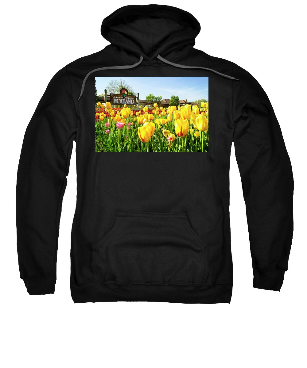 Holland Sweatshirt featuring the photograph Welkom To Holland by Tammy Chesney