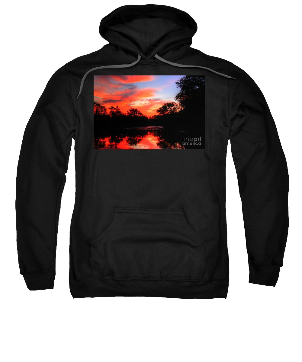Related Tags: Sweatshirt featuring the photograph What A Morning 2 by Robert Pearson
