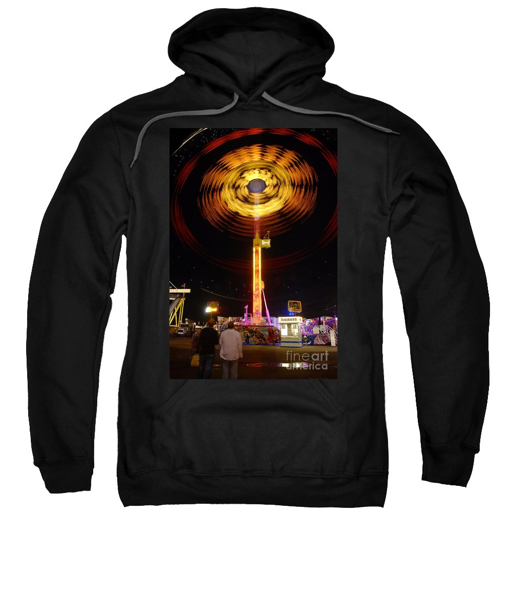 Fair Sweatshirt featuring the photograph Wheels Of Wonder by David Lee Thompson