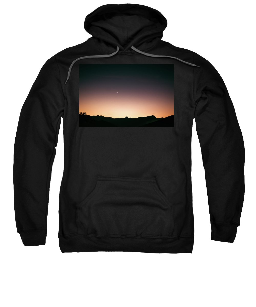 Landscape Sweatshirt featuring the photograph When The Points Align In The Dawn. by Lincon Vidal