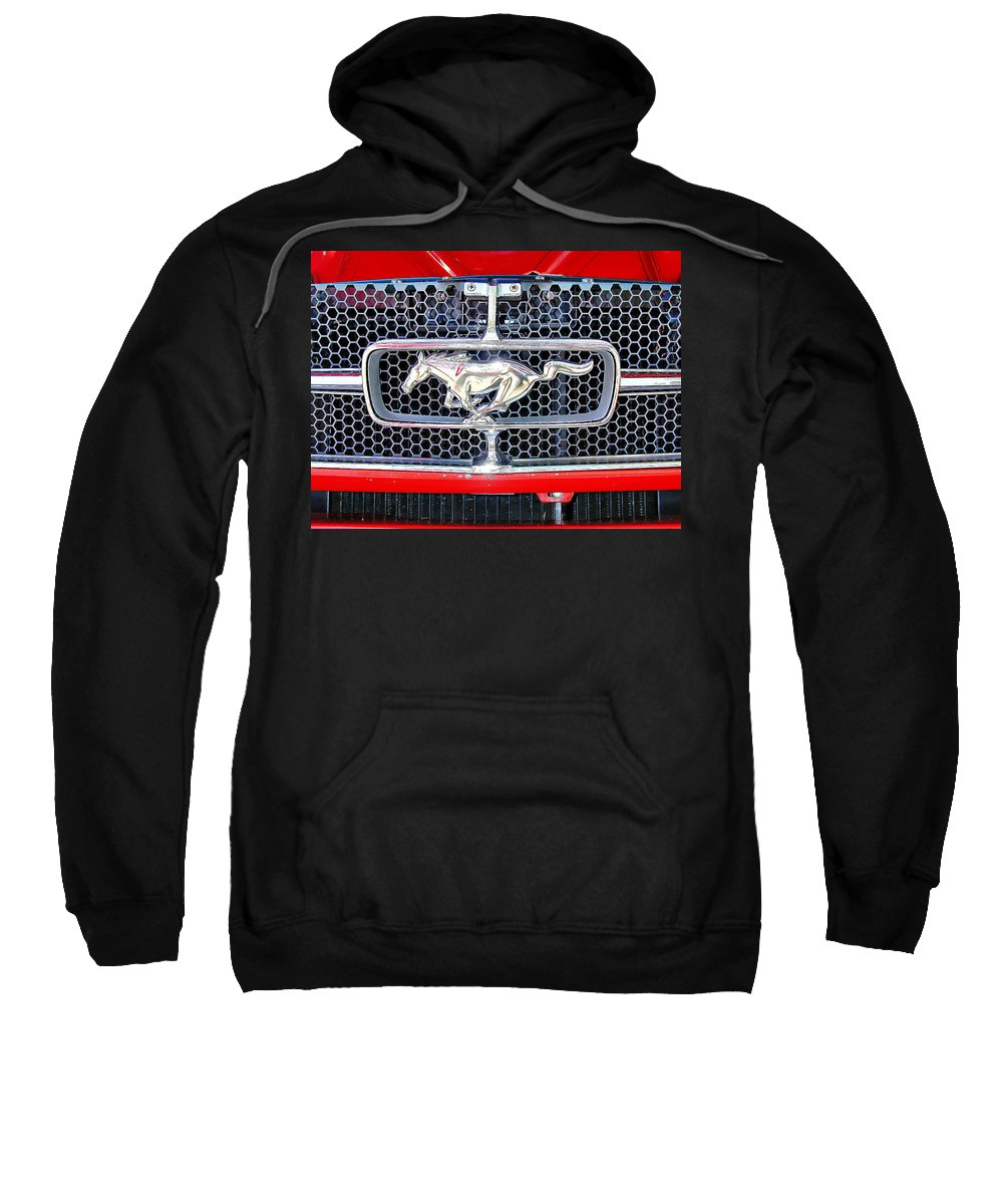 Mustang Sweatshirt featuring the photograph Where A Pony Belongs by Gary Adkins