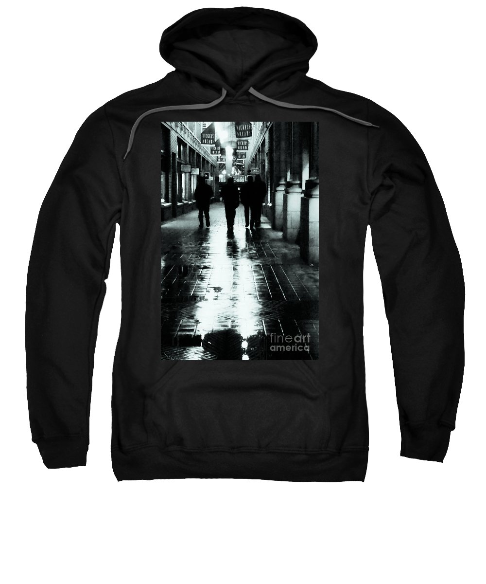 Ann Arbor Sweatshirt featuring the photograph Where The Boys Go by September Stone