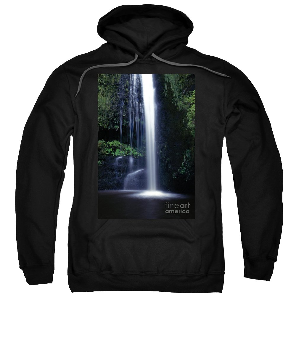 Active Sweatshirt featuring the photograph Whitewater Action by Don King - Printscapes