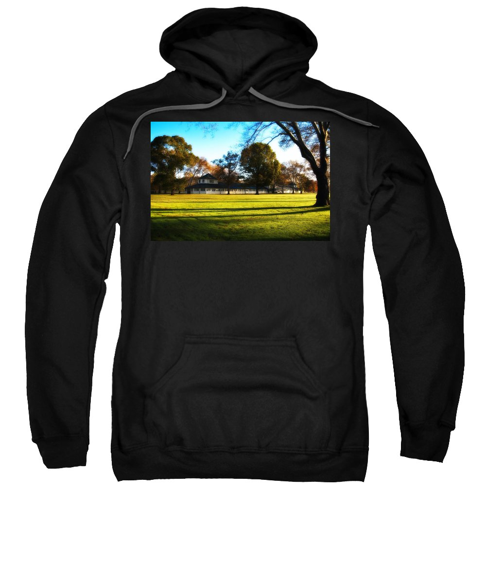 Widner Sweatshirt featuring the photograph Widner Farm - Flourtown by Bill Cannon