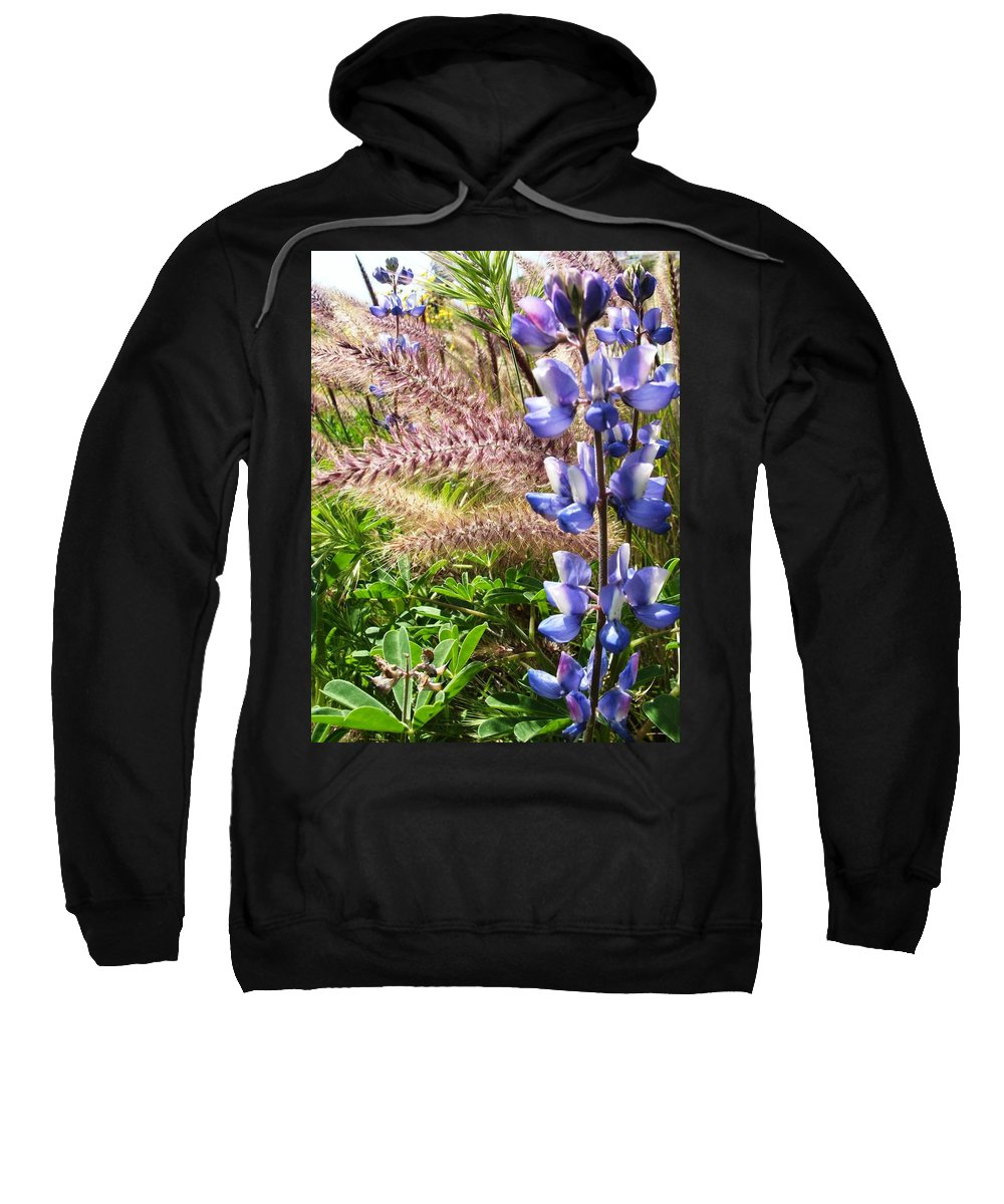 Flower Sweatshirt featuring the photograph Wild Flower by Shari Chavira