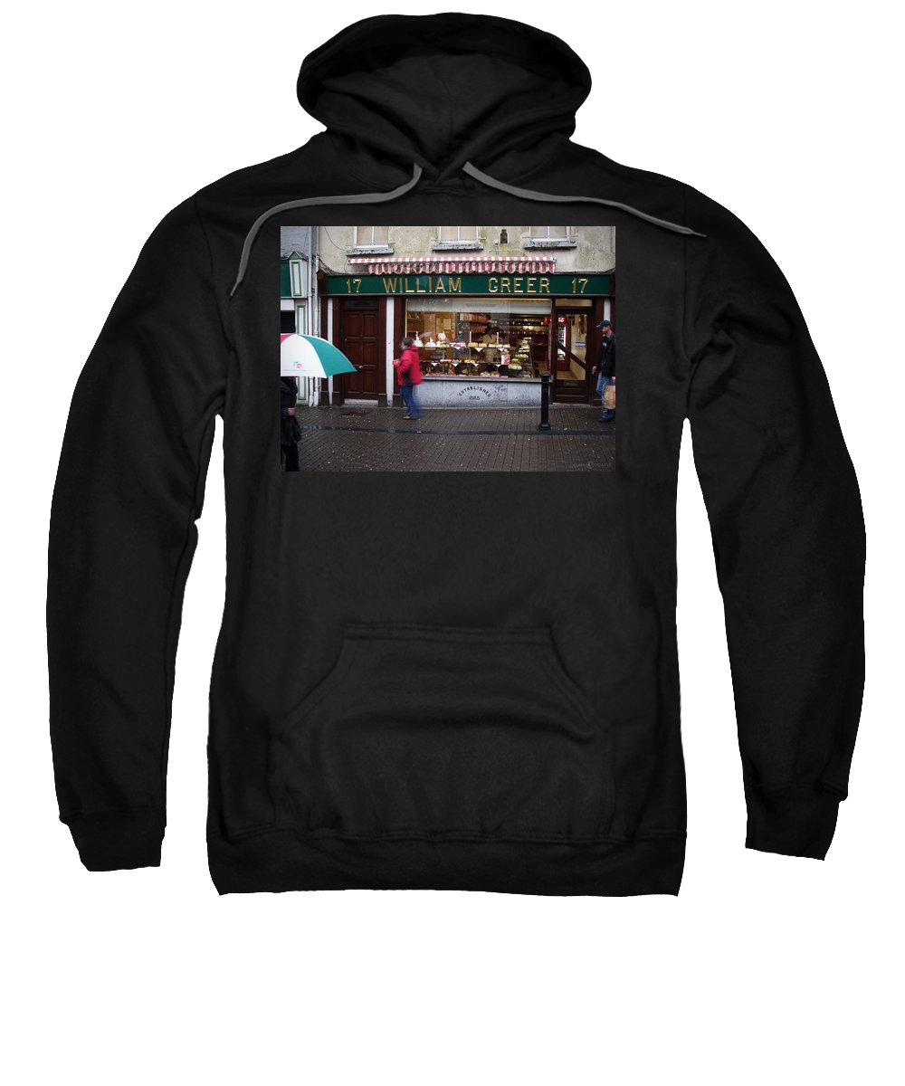 Ireland Sweatshirt featuring the photograph William Greer by Tim Nyberg