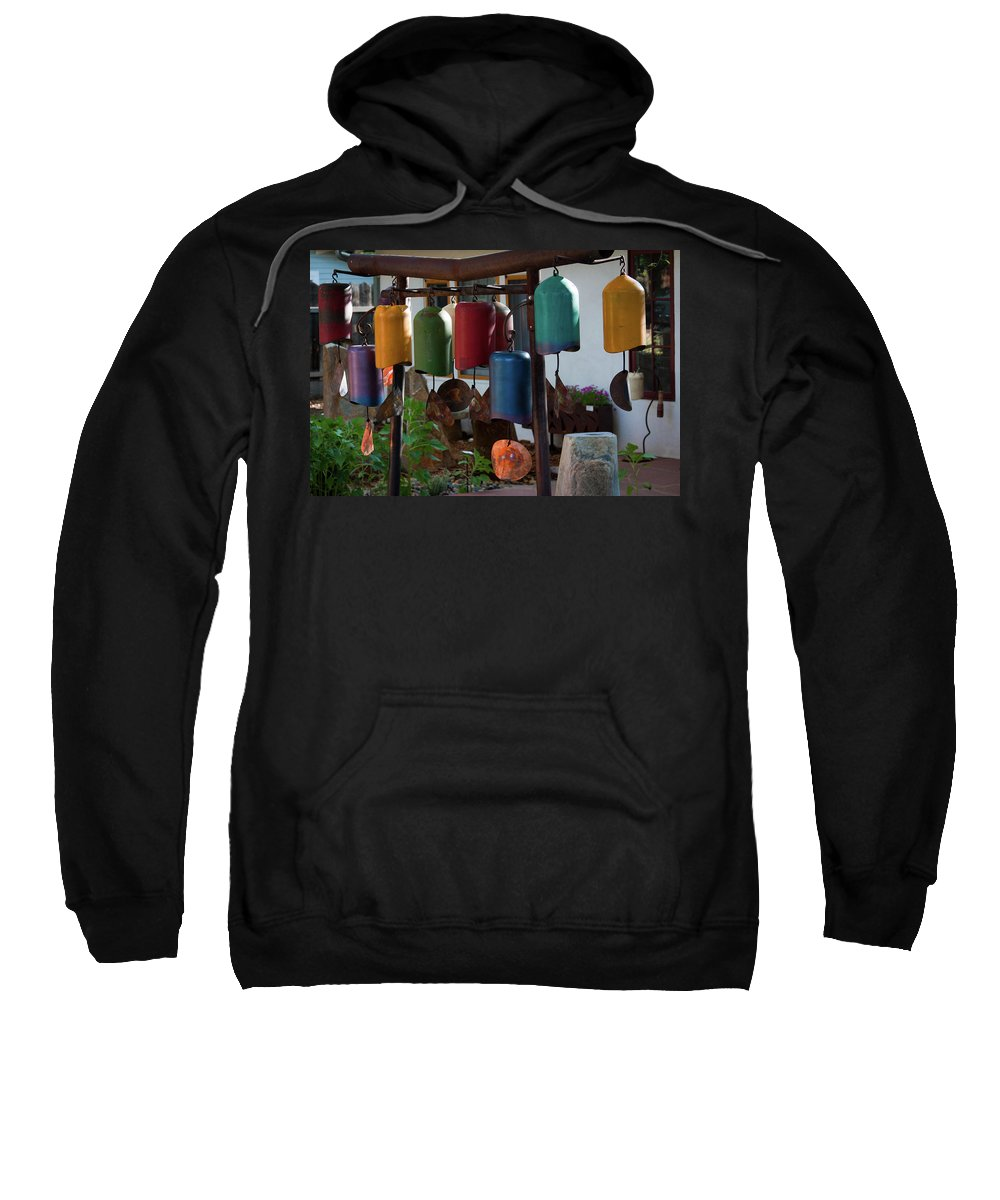Whindchimes Sweatshirt featuring the photograph Windchimes by Jill Smith