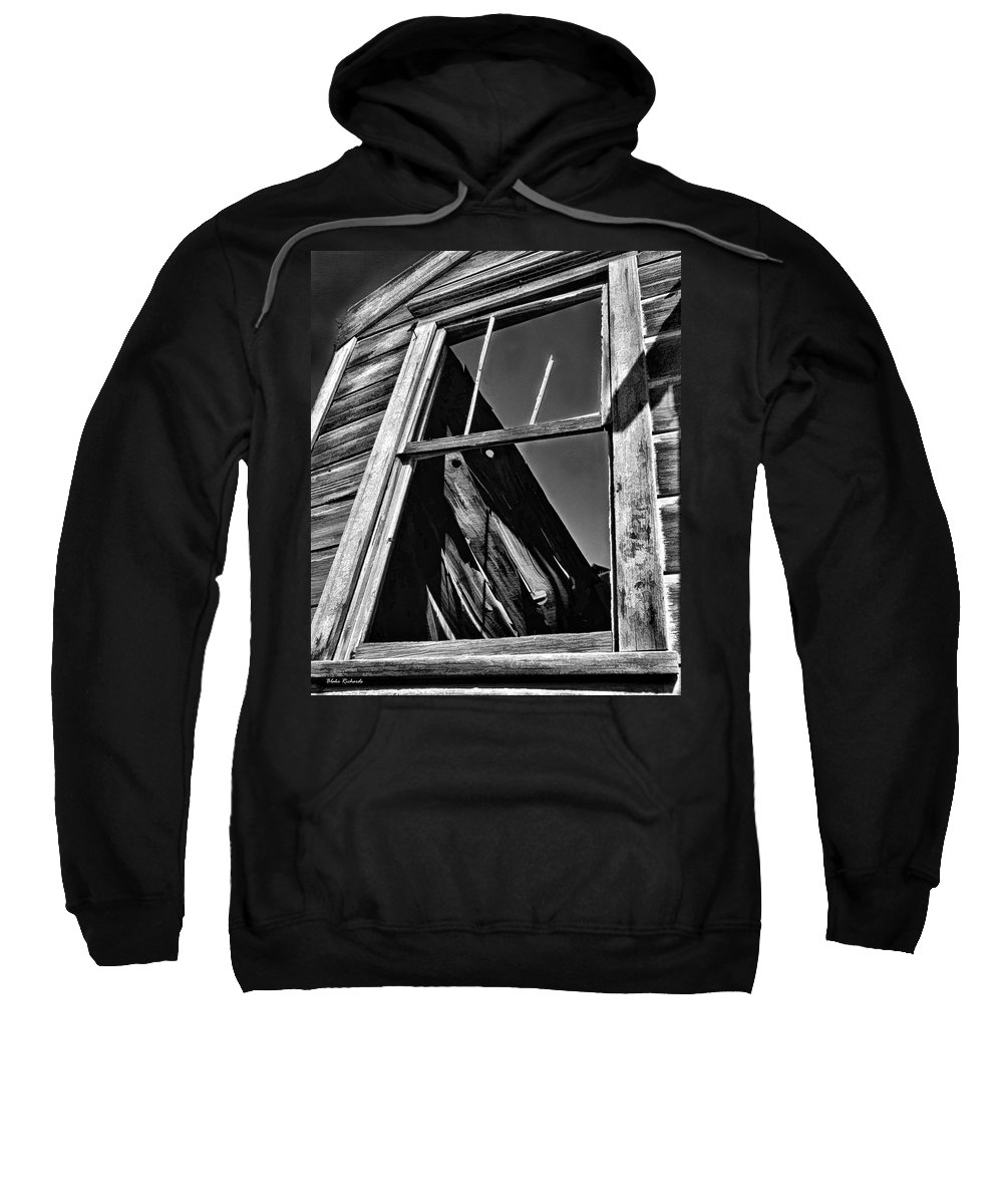 Sweatshirt featuring the photograph Window But No Roof by Blake Richards