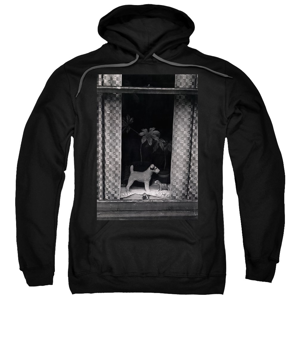 Photograph Sweatshirt featuring the photograph Window Scene by Charles Stuart