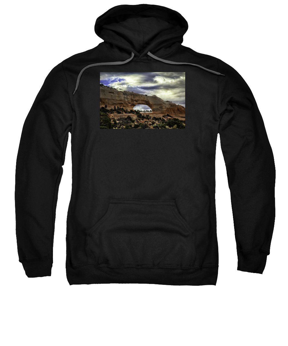 Arch Sweatshirt featuring the photograph Window To Heaven by Elizabeth Eldridge