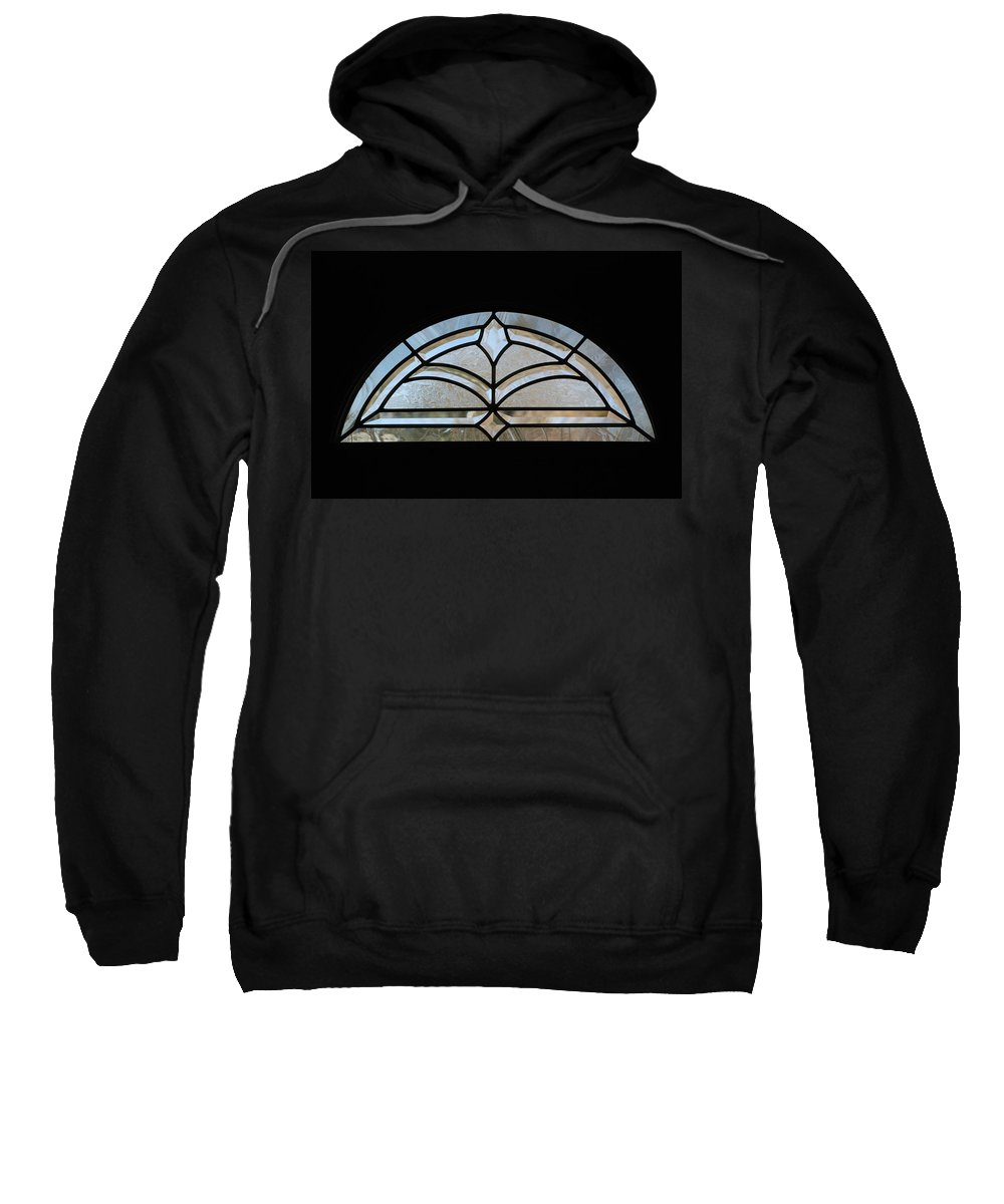 Window Sweatshirt featuring the photograph Window To The World by Rob Hans